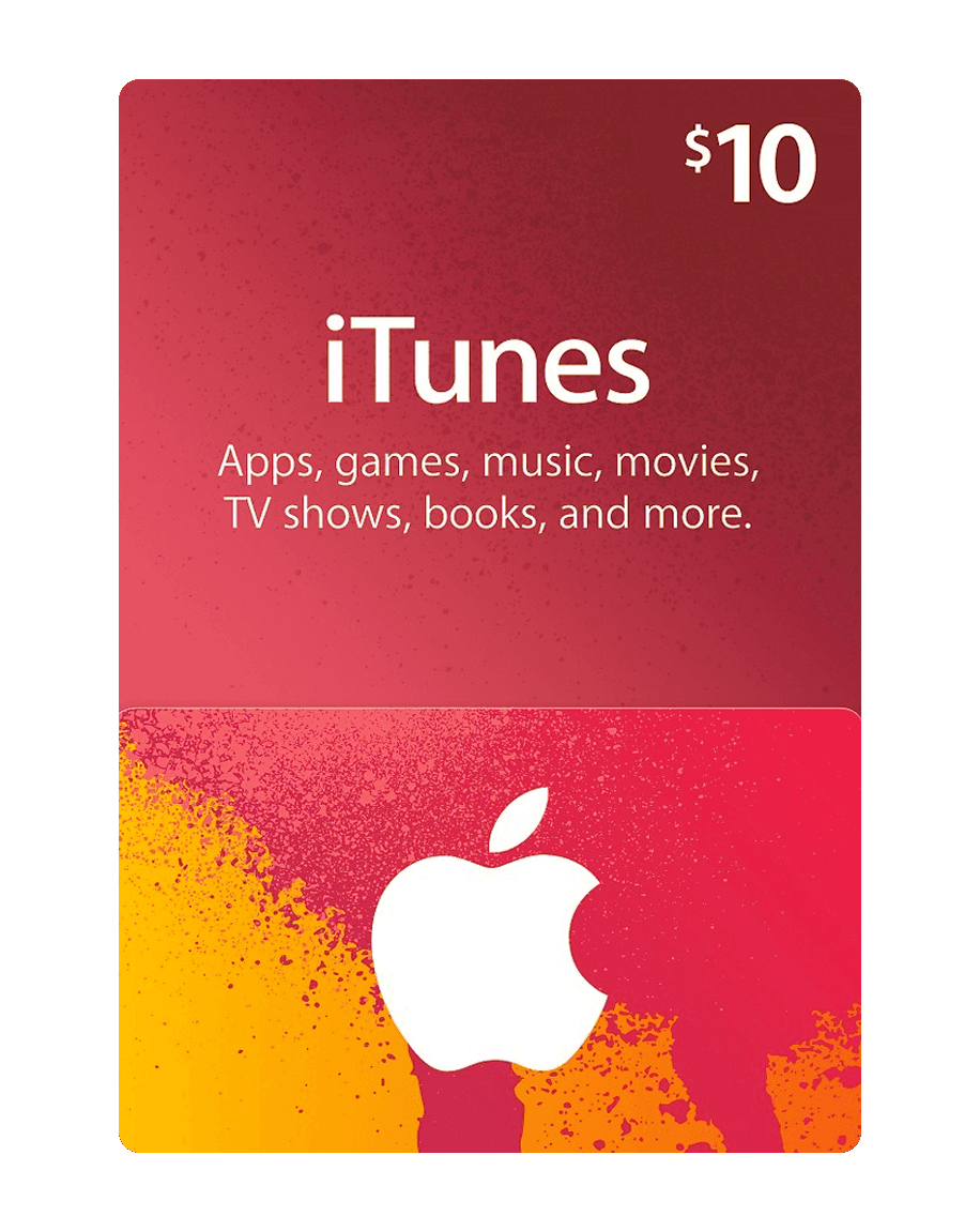 Apple iTunes Gift Card 10$
