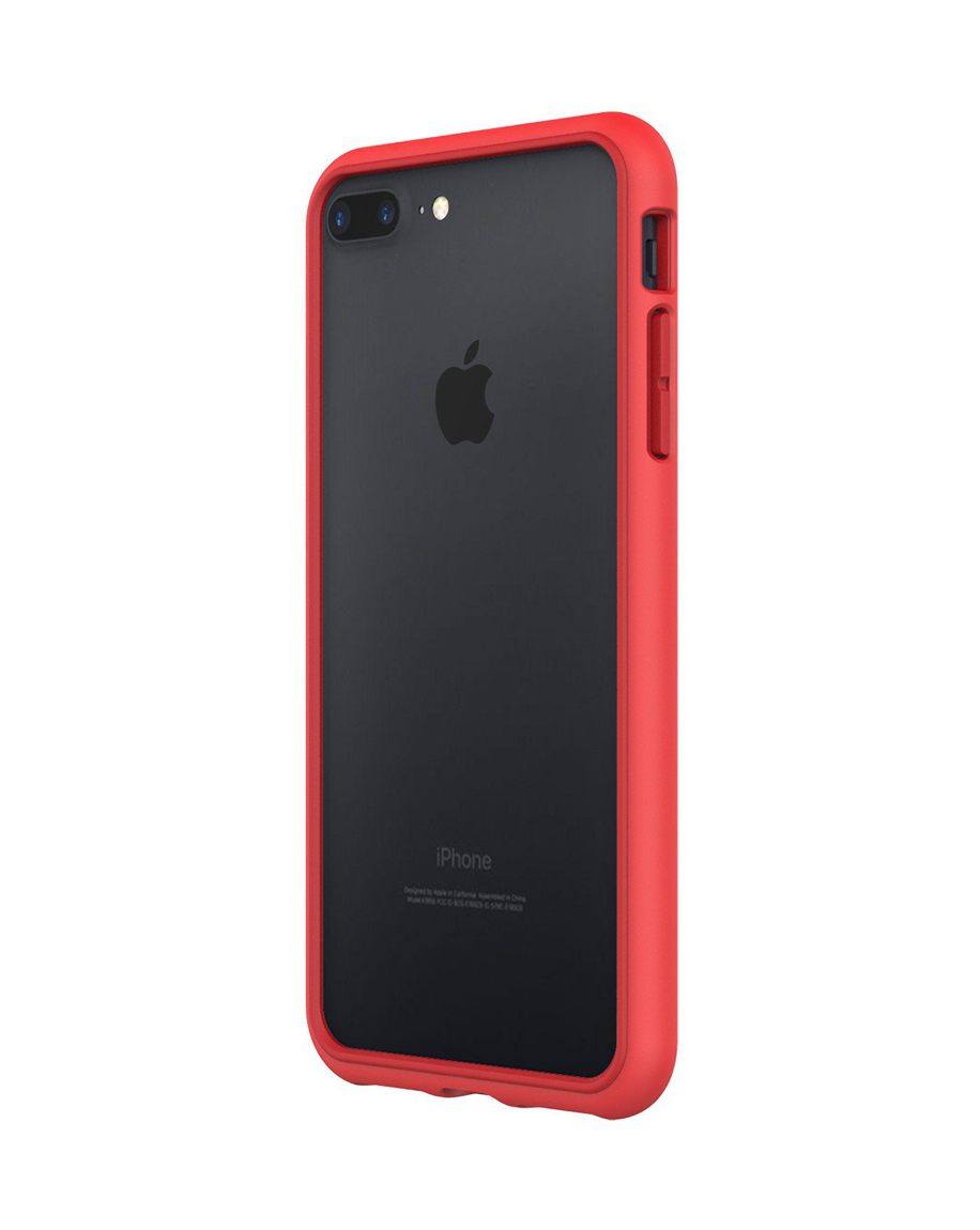 Rhinoshield Crash Guard Bumper Red For iphone 7 Plus