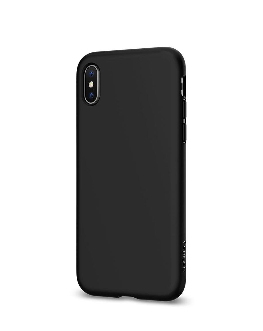 Linkem Stores Spigen Liquid Crystal Slim Soft Matte Black Iphone X Case Clear 1
