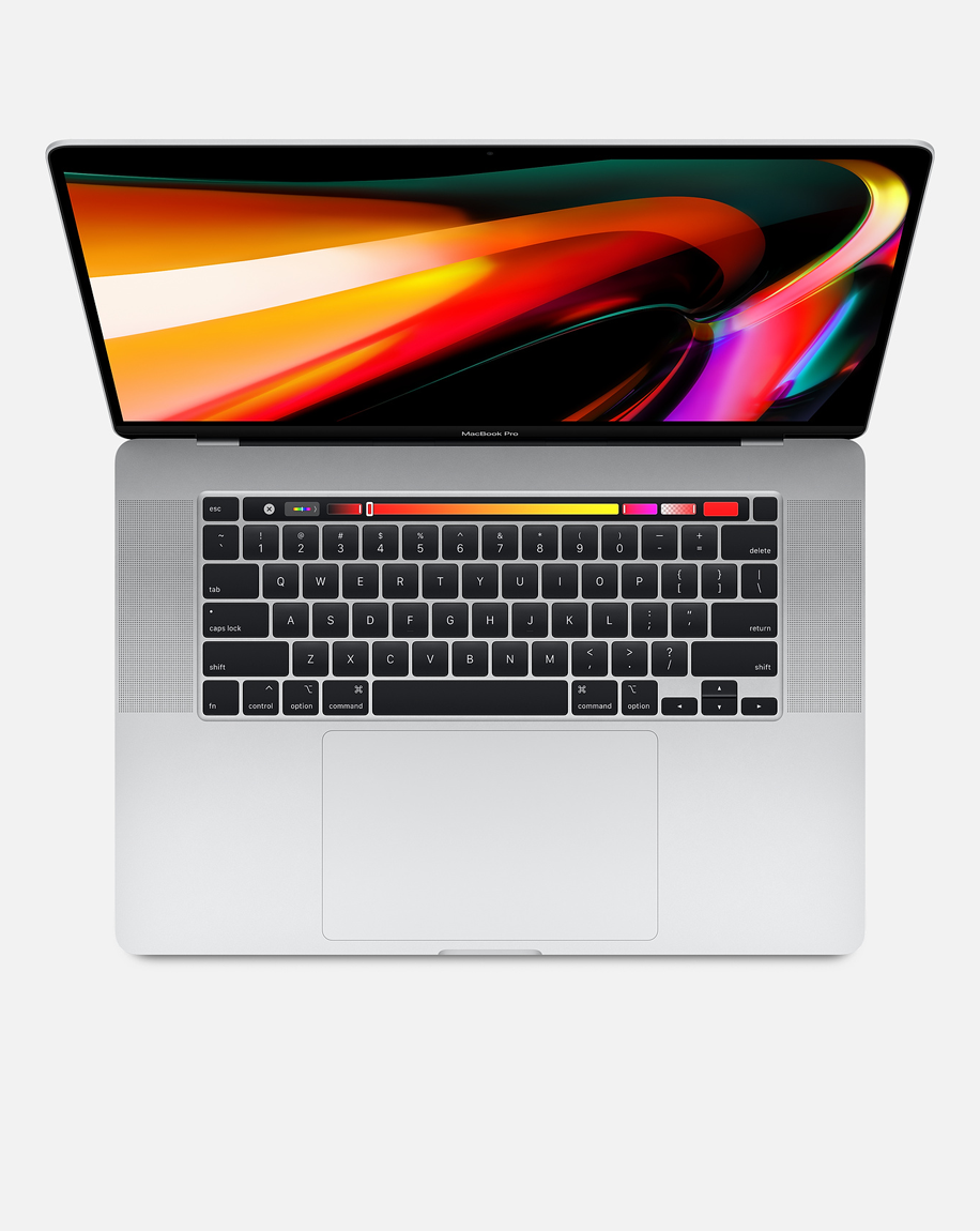 Macbook Pro 16-inch with Touch Bar 2.6GHz 6-core Intel Core i7 512GB Silver
