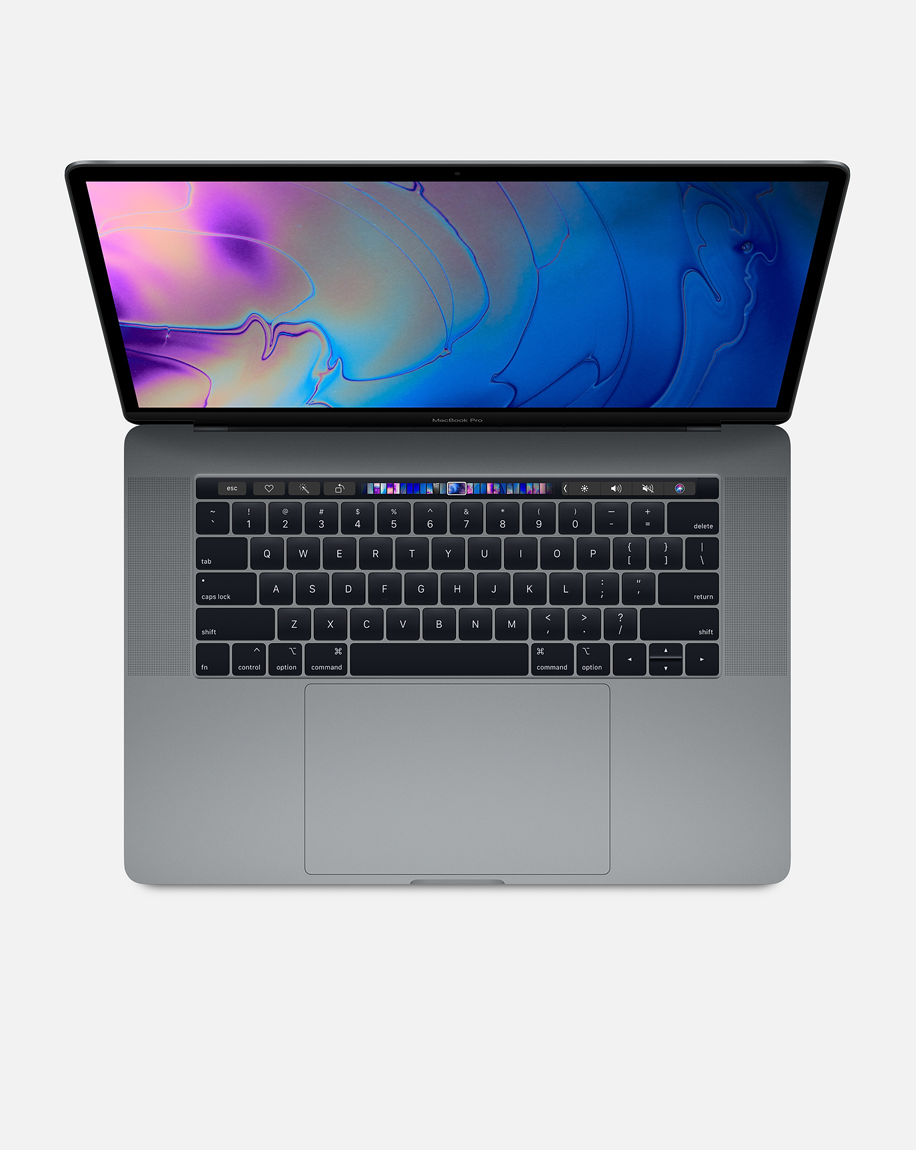 MacBook Pro 15-inch with Touch Bar: 2.3GHz 8-core Intel Core i9, 512GB - Space Gray